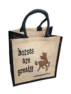 Jute Shopping Bags - HOBBIES from 'These Bags are Great' - Good Size Bag Gift
