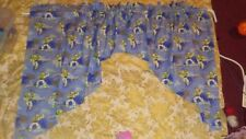 Buzz light year Toy Story Curtain Valance and Tier set unlined