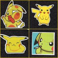 Pikachu Vinyl Sticker Lot (5 options)