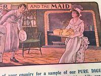 vintage advertising Trade Card J Reynolds & Ca Ltd Gloucester The Miller & Maid