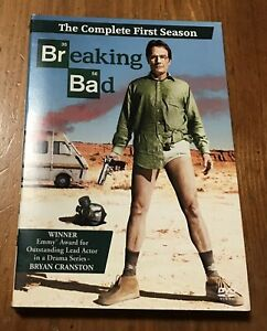 Breaking Bad: The Complete First Season ~ 3-Disc DVD set 2009