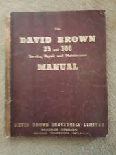 DAVID BROWN 25C 30C TRACTOR SERVICE MANUAL