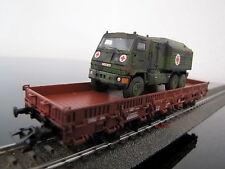 "Märklin 46959 H0 4MFOR Bundeswehrtransport mit Fahrzeug ""Yak"" (""DURO""), neu /OVP"