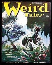 KELLY FREAS PULP COVER SIGNED WEIRD TALES 1950/11 FRITZ LEIBER a FAIR
