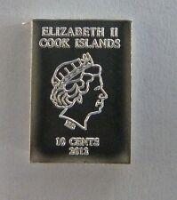 1g (1 gram) Valcambi Suisse Cook Islands .999 Fine Silver Bullion Bar