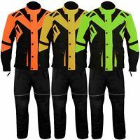 2-teiler Motorradkombi Cordura Textilienkombi Motorradjacke + Motorradhose