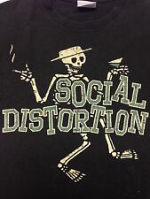 Social Distortion Medium T-Shirt Rock  Music Punk Skateboard Bar Band Concert