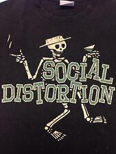 Social Distortion Medium T-Shirt Rock  Music Punk Skateboard Bar Band Concert