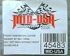 Front Master Cylinder Cover Gasket wo/Sight Hole Harley
