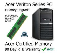 2gb ddr3 Aggiornamento Della Memoria Per Acer Veriton m2610 computer (non-ECC | pc3-10600u)