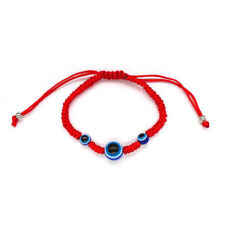 Handmade Turkish Blue Eye Beads Kabbalah Red String Braided Good Lucky Bracelets