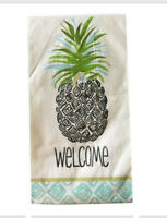 Pineapple Welcome Guest Hand Towels Paper Napkins Beach Summer 20 pk Set of 2