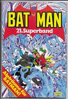 Batman Superband Nr.21 von 1985 - TOP Z1 ORIGINAL ERSTAUFLAGE EHAPA COMICALBUM