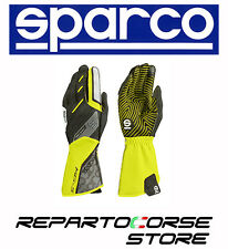 Guanti Kart SPARCO 2017 Motion Giallo Fluo Tg 7 Karting Gloves Handschuhe Yello