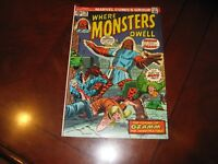 Where Monsters Dwell #29 MarvelComics 1974 Very Fine +