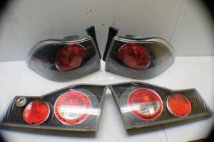 1998-2000 Honda Accord Right Left Outer Inner Set Tail Light 04 5D3