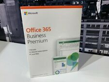Microsoft Office 365 Business Premium (1 User 12-Month) 5 x PC and/or 5 Mac New!