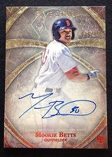 #/499 Mookie Betts Auto RC 2014 Topps Five Star Rookie On Card Card Autograph