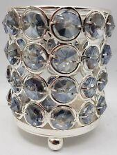 Crystal Effect Beautiful Tea Light Holder 10cm