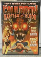 The Cauldron - Baptism Of Blood (DVD, 2008) RARE HORROR CULT CLASSIC BRAND NEW