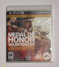 Medal of Honor: Warfighter -Limited Edition (PlayStation 3, 2012) **BRAND NEW**
