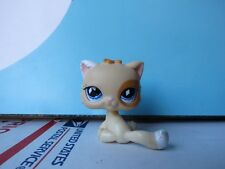 Littlest Pet Shop Brown Tan Kitty Cat Diamond Eyes