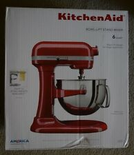 KitchenAid KL26M1XER Professional 6-Qt. Bowl-Lift Stand Mixer - Empire Red - NEW