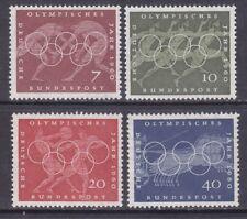 Germany 813-16 Mnh Og 1960 17th Olympic Games Rome Sport Scenes Full Set