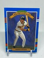 1990 Donruss Baseball Diamond Kings DK Card #4 Barry Bonds Pittsburgh Pirates