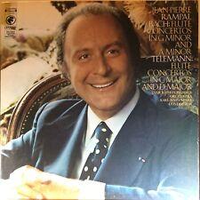 Jean-Pierre Rampal - Bach Flute Concertos Teleman Flute Concertos - 1974 - Vinyl