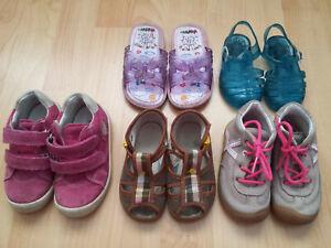 Schuhpaket Mädchen Gr. 20 21 22 Pepino by Ricosta Superfit Leder Sommer Sandalen
