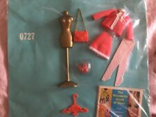 Vintage Topper Dawn Doll Outfit #0727 Chain 'er Up Moc
