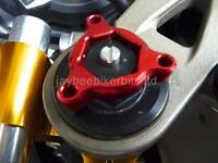 Tenedor Pre Reguladores Rojo 19MM Honda CBR1000RR 600RR CB1000R Mv Agusta F4