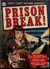 Prison Break #4 Photocopy Comic Book, Kinstler Art