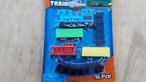 16PCS Train Tracks Set Kids Toy