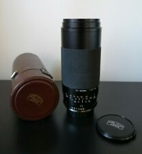 Vintage Carl Zeiss JENA 75-300mm F4.5-5.6 MC Macro Zoom Lens with Lens Case
