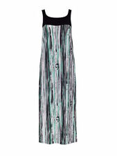 Viscose Striped Clothing metalicus for Women