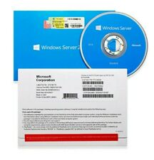Microsoft Windows Server 2016 Standard 64Bit OEM DVD With COA Product Key 16Core