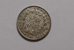 INDIA WILLIAM IV RUPEE 1835 SHARP DETAILS B35 #8413