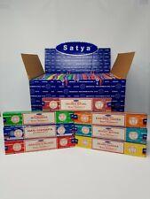 Nag Champa - DISPLAY 15 grams (84 packs ) - Assorted Display Box.  *Sale Price*