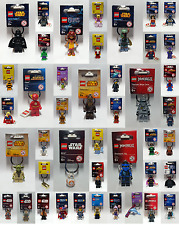 Brand New Lego Keyrings - Super Heroes - Star Wars - Classic - Ninjago  Free P&P