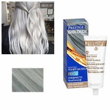 Grey Hair Silver Effect Toner DYE BLOND HAIR 100 ml by Prestige FREE SHIPPING