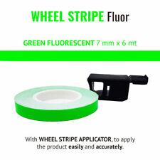 Wheel Stripes per Cerchi Moto Verde Fluo 7 mm x 6 mt con Applicatore