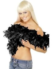 Smiffys Deluxe Boa Black Feather 180cm 80g - Female