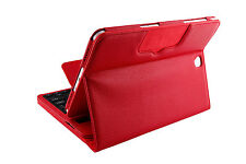 """Leather Bluetooth Keyboard Stand Case Cover For Various Samsung Galaxy 10""""Tablet"""