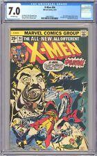 X-MEN #94 - CGC 7.0 - OW - FN/VF- New Team Begins 1975