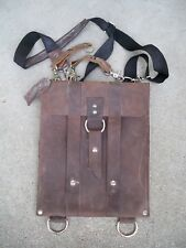 "11"" Copper River Bag Slim Line Laptop Computer MacBook Air Bag Brown Leather"