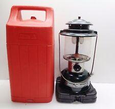Coleman Powerhouse Fuel Lantern (2 Mantle) (12/88) with Hard Case