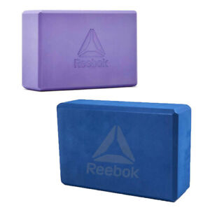Reebok Yoga Block EVA Foam Pilates Brick Stretch Exercise Stretching Support Aid