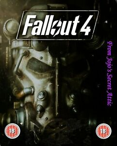 Microsoft Xbox One game Fallout 4  Steelbook with poster MINT